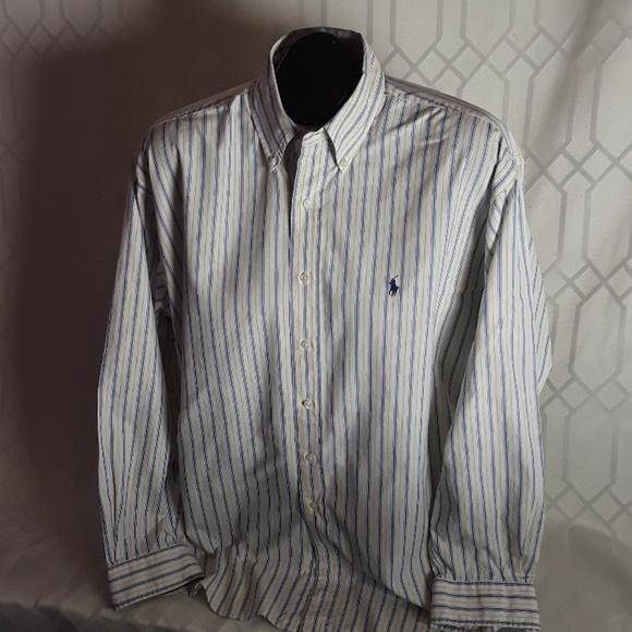 ec3cfdb89 Polo by Ralph Lauren Shirts | Polo Ralph Lauren Blake Yellow Blue ...